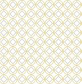 A-Street Prints Star Bay Gold Geometric