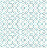 A-Street Prints Star Bay Aqua Geometric