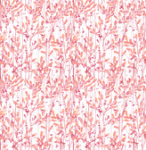 A-Street Prints Willow Pink Leaves