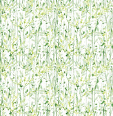 A-Street Prints Willow Green Leaves