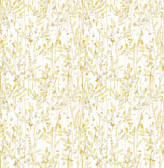 A-Street Prints Willow Gold Leaves