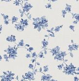 Wen Sapphire Festival Floral  wallpaper