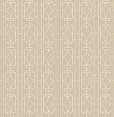 Empire Beige Lattice  wallpaper