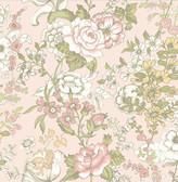 Ainsley Pink Boho Floral  wallpaper