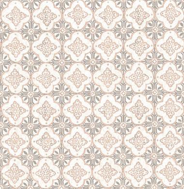 Geo Pink Quatrefoil  wallpaper