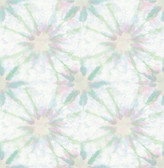 Iris Green Shibori  wallpaper