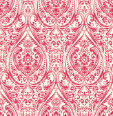 Gypsy Red Damask  wallpaper
