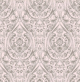 Gypsy Light Pink Damask  wallpaper