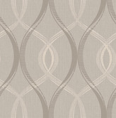 Echo Grey Lattice   Contemporary Wallpaper