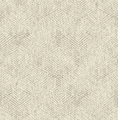 Fans Taupe Texture  Contemporary Wallpaper