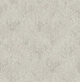 Fans Grey Texture  Contemporary Wallpaper