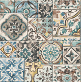 Marrakesh Tiles Teal Mosaic