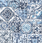 Marrakesh Tiles Blue Mosaic