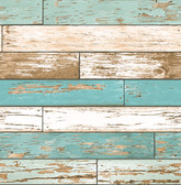 Scrap Wood Turquoise Weathered Texture