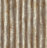 Corrugated Metal Rust Industrial Texture