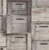 Wood Crates Grey Distressed Wood