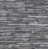 Stacked Slate Charcoal Industrial