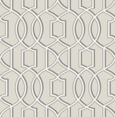 Quantum Grey Trellis  wallpaper