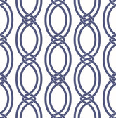 Infinity Indigo Geometric Stripe  wallpaper