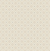 Kinetic Beige Geometric Floral  wallpaper