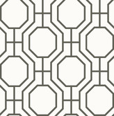 Circuit Black Modern Ironwork  wallpaper