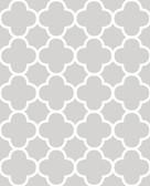 Origin Grey Quatrefoil  wallpaper