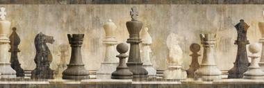 Albert Beige Chess Border