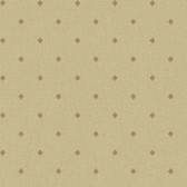 Norman Rust Medallion Wallpaper MAN02752