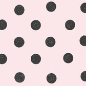 Lunette Light Pink Polka Dot