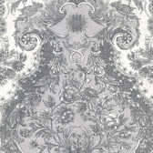Magella Light Grey Damask
