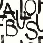 Fabulous Cream Brushstroke Text