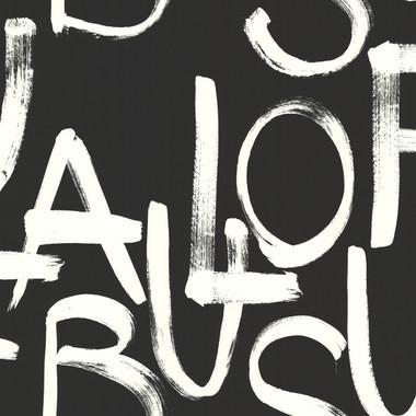 Fabulous Black Brushstroke Text