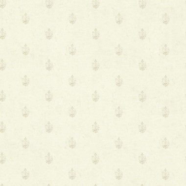 Bristol Linen Medallion Toss Wallpaper