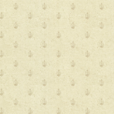 Bristol Wheat Medallion Toss Wallpaper