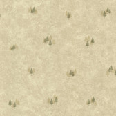 Timber Grove Sage Tree Toss Wallpaper