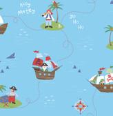 Funny Pirates Blue Pirates