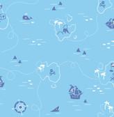 Sharks Blue Map