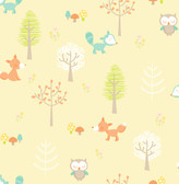 Forest Friends Yellow Animal