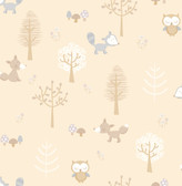 Forest Friends Taupe Animal