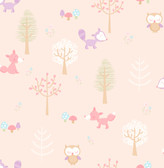 Forest Friends Pink Animal