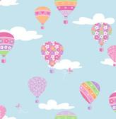 Hot Air Balloons Blue Balloons