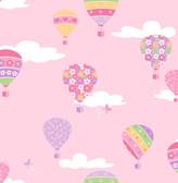 Hot Air Balloons Pink Balloons