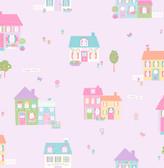 Happy Street Purple Houses