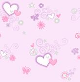 Heart Felt Lilac Hearts
