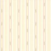 Rosette Lavender Rosebud Stripe