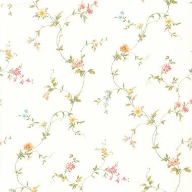 Connie White Small Floral Trail