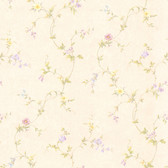 Connie Cream Small Floral Trail