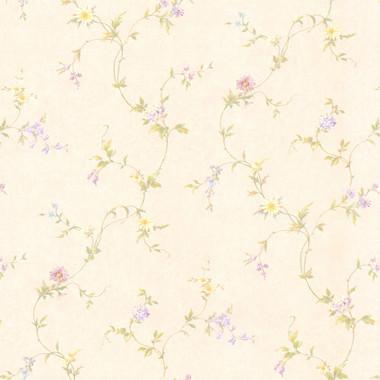 Connie Cream Small Floral Trail