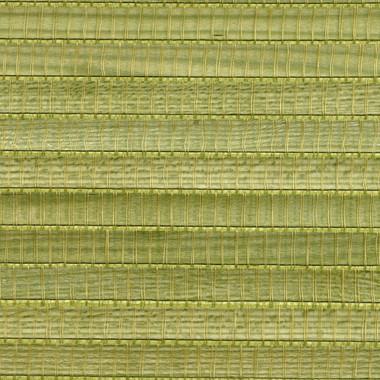Miyoko Green Grasscloth Wallpaper