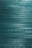 Mayumi Aqua Grasscloth Wallpaper